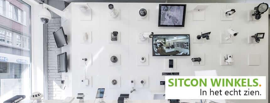 Spyshop winkel voor beveiligingscamera's en meer