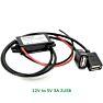 DC converter 12V to 2 x USB 5 volt