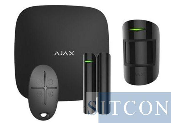 Ajax Wi-Fi alarmsysteem Zwart SMART