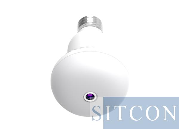 Lamp Wi-Fi verborgen camera EASY