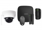 Alarmsysteem Zwart ELITE + IP dome camera