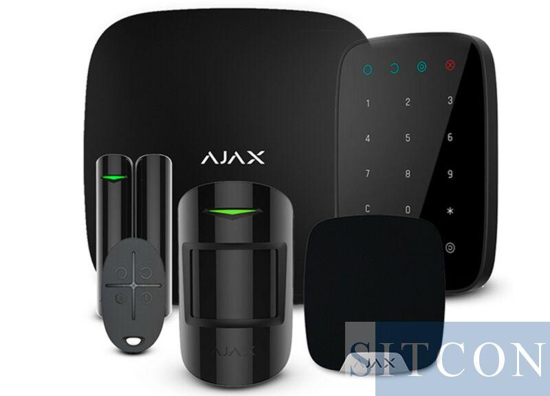 Draadloos alarmsysteem Compleet Zwart SMART