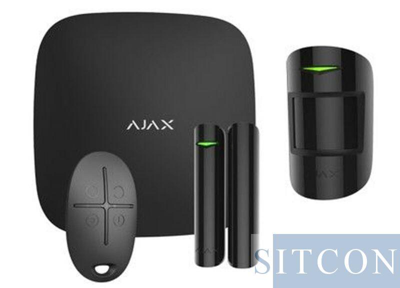 Wi-Fi alarmsysteem Zwart SMART