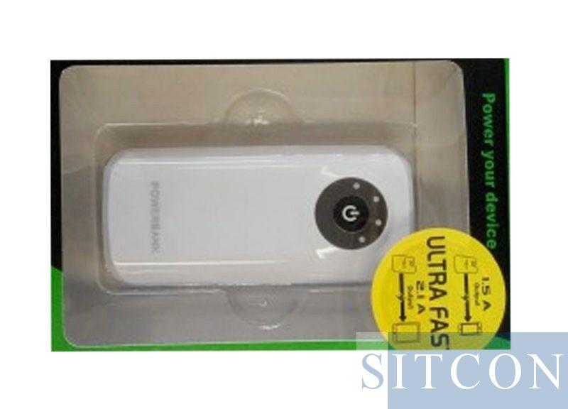 Powerbank 5V + 44 uur USB cams