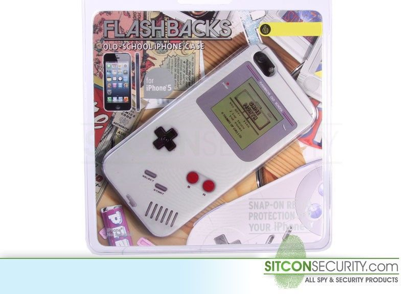 Retro cover iPhone 5 - Gameboy