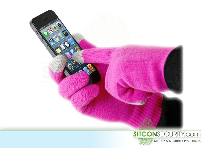 iGloves - Touchscreen handschoenen (Roze)