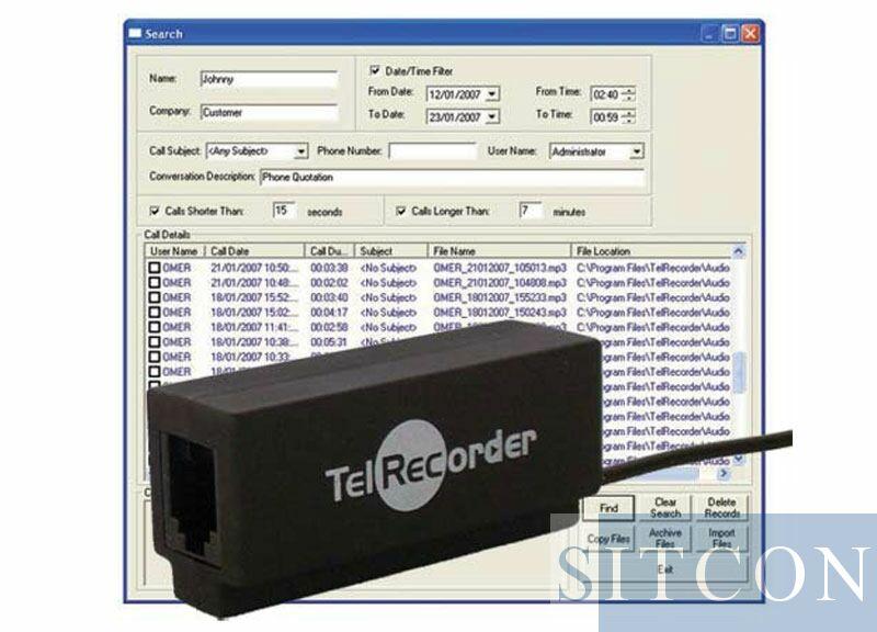 Telefoonrecorder - Vaste lijn (A)